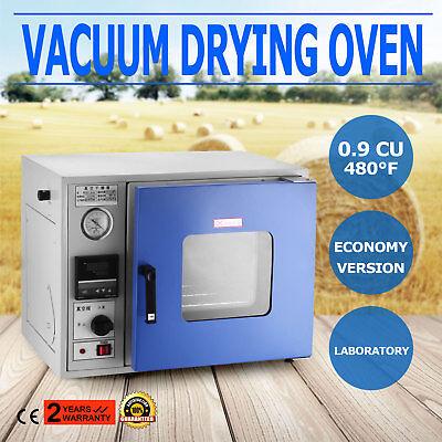 0.9cu Ft 23l 480f 250c Lab Vacuum Drying Oven Economy Version