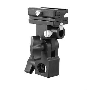 Flash-Bracket-B-Shoe-Umbrella-Holder-Swivel-Light-Stand-for-Canon-Nikon-Yongnuo