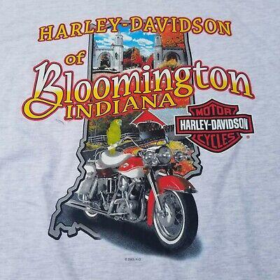Top 10 Reasons to Ride a Harley Davidson T Shirt Bloomington Sleeveless NWT XL