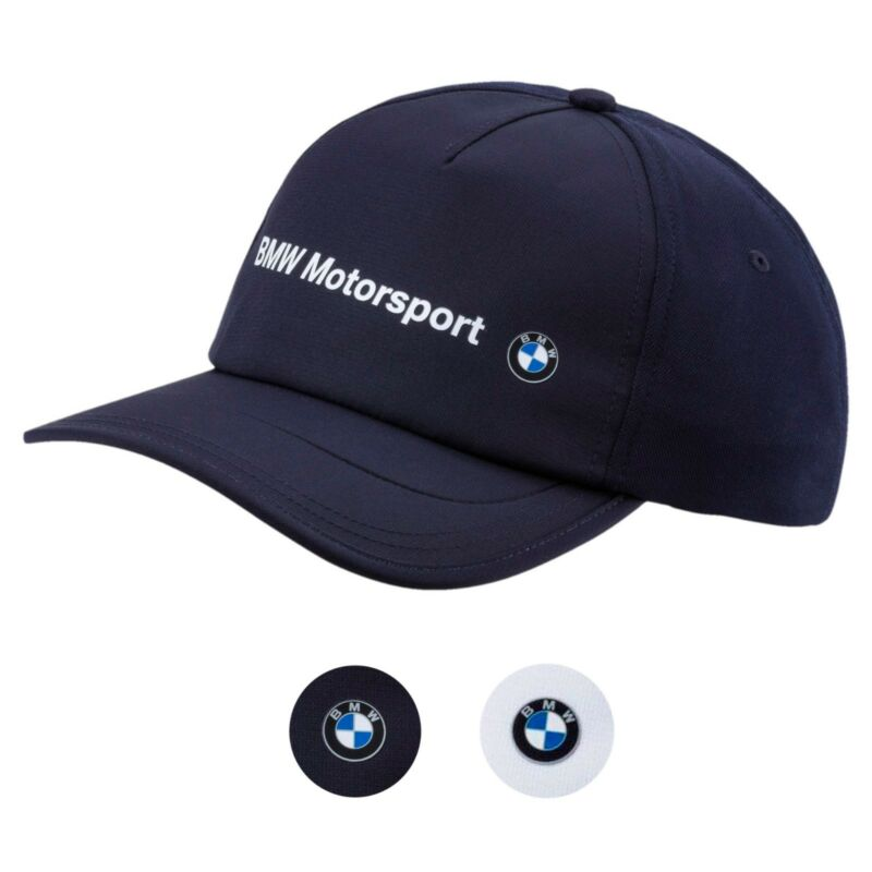 Puma Bmw Men s Premium MotorSport Speed Adjustable Trucker Hat Cap 021513 29e1f8f9274e