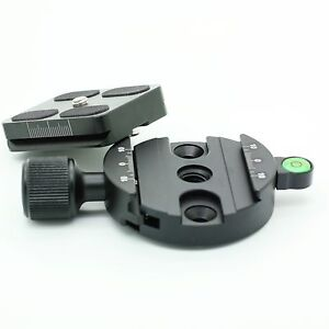 Clamp and Quick Release Plate Arca Swiss Compatible For Tripod Ball Head 55mm