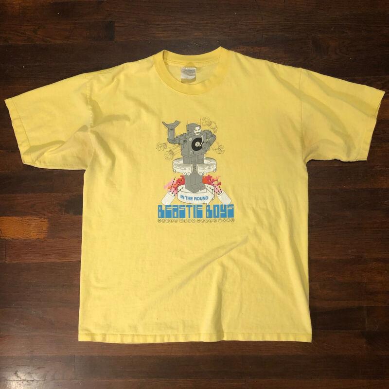 Vintage Beastie Boys Hello Nasty 1998 Tour In The Round Shirt T-Shirt Size XL