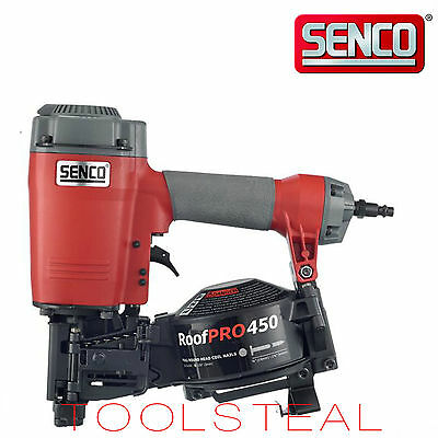 Senco Roofpro 450 1-34 Coil Roofing Nailer New  W Factory Warranty