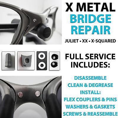 Oakley X Metal Repair Nose Bridge Tune Up Fix Juliet XX Penny Romeo 2 R2 (Romeo And Juliet Oakley Sunglasses)