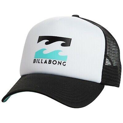 31e64f1d2d794 BILLABONG MENS TRUCKER CAP.PODIUM CURVED PEAK SNAPBACK MESH BASEBALL HAT 9S  1 27