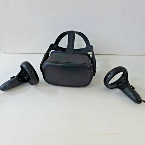 OCULUS QUEST MH-B 64GB VR Headset W/ 2 Controllers *NO CHARGER*
