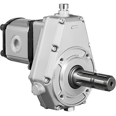 Tractor Hydraulic Fluid Pto Pump Gearbox Assembly 540rpm Clockwise Long Tube