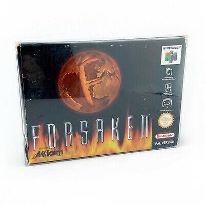 Nintendo 64 Forsaken N64 PAL UK Boxed Box Protector