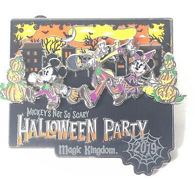 Halloween Party Logo (Mickey's Not So Scary Halloween Party 2019 Logo Disney)