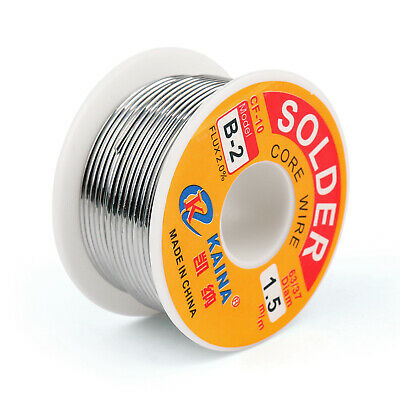 1.5mm 100g 6337 Tin Lead Rosin Core Solder Wire Soldering Welding Flux 2.0 T2