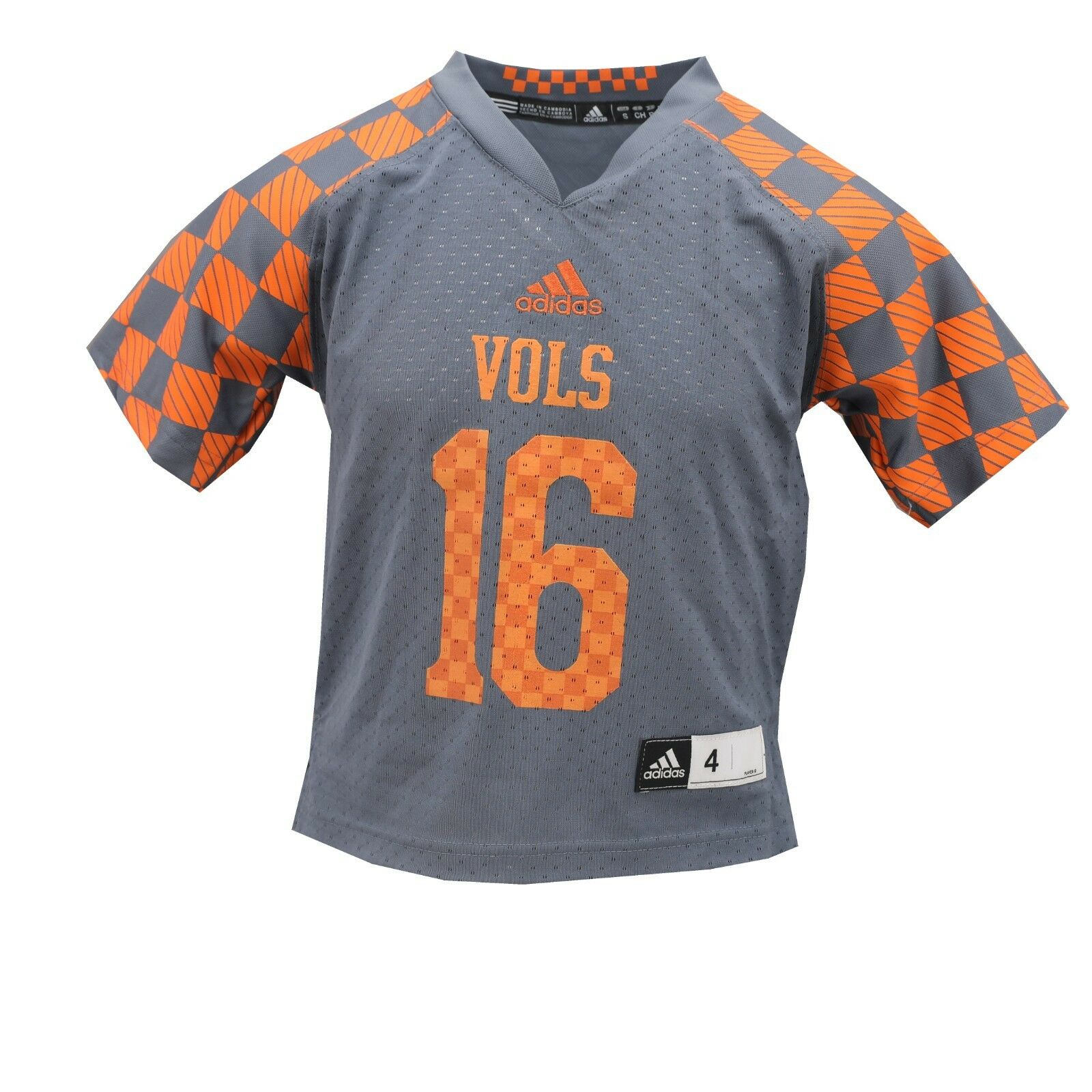 outlet store de61e 41689 Details about Tennessee Volunteers Official NCAA Adidas Kids & Youth Size  Football Jersey New