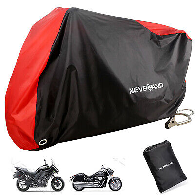 XXL Waterproof Motorcycle Cover For Harley Davidson Dyna Softail Iron XL 883 US