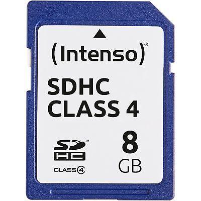 Intenso Secure Digital SDHC Card 8 GB, Speicherkarte