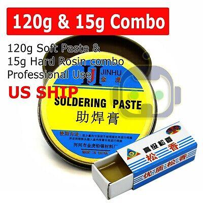 120g 15g Rosin Soldering Flux Paste Solder Welding Grease Cream For Phone Pcb