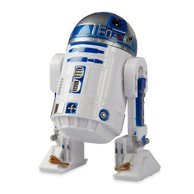 Star Wars R2 D2 Coin Bank W  Sound R2 D2 Droid Robot Figurine Doll Disney Store