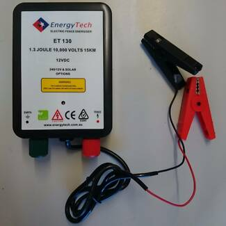 15KM ENERGYTECH 12V Farm Electric Fence Energiser