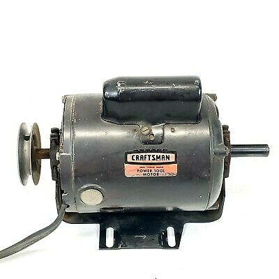Craftsman 12 Hp Dual Shaft Motor 113.12160 Vintage Power Tool Motor
