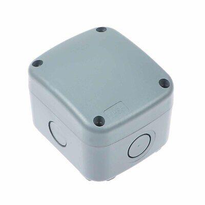 1PK ENCLOSURE JUNCTION BOX IP66 WATERPROOF WEATHERPROOF Outdoor Cable Protection