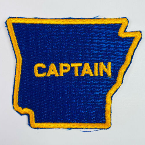 Captain Arkansas State Police Trooper Patch