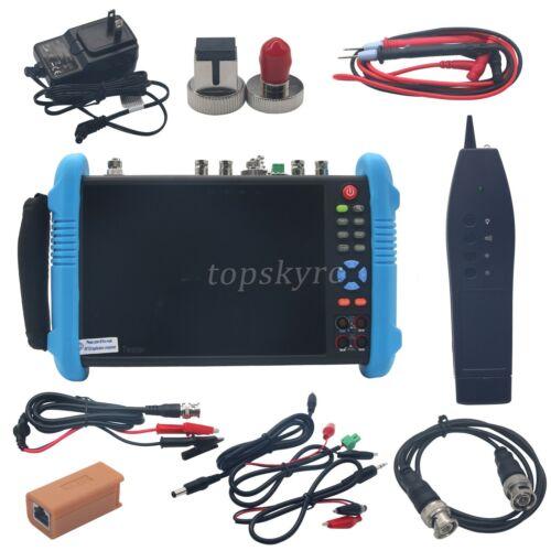 "IP CCTV Camera Tester Monitor IPC9800 MOVTADHS Plus 7"" 4K Video Wifi Android ##"