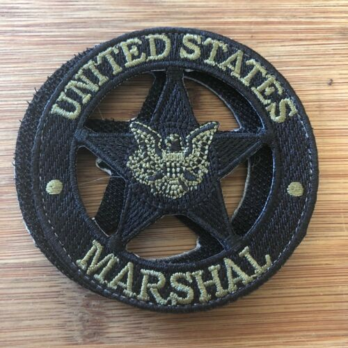 US Marshals Service Special Edition black & OD + V Genuine *Kokopelli Patch*
