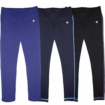 Leggings Für Mädchen (Kinder Leggings Stretch Hose für Mädchen Sport Leggins Fitnes Hose Training Neu)