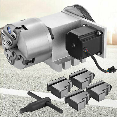 Cnc Router Rotational Rotary Axis 4-jaw High Quality Self-centering Durable