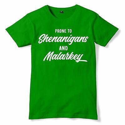 Shenanigans Funny St Patricks Day T Shirt Saint - St Patricks Outfits
