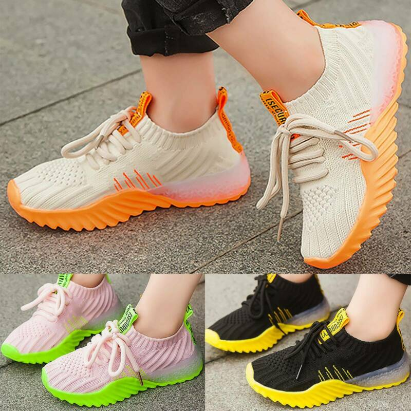 boys girls kids trainers shoes sneaker children