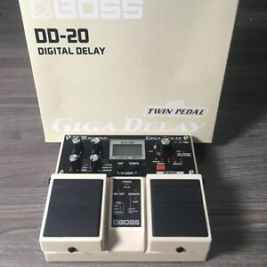 BOSS DD-20 Giga Delay Pedal