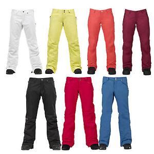 Burton-Society-Pantalones-Damen-Snowboard-Esqui-Invierno-Pantalon-Funcional