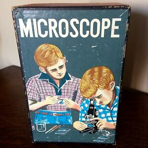 Vintage Microscope No. 3006 by B Rennet Japan