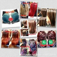 Japanese straightening,keratin,mobile services available