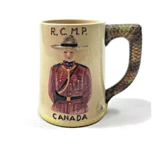 Vintage RCMP Royal Canadian Mounted Police Mug Collectible Canada Gift