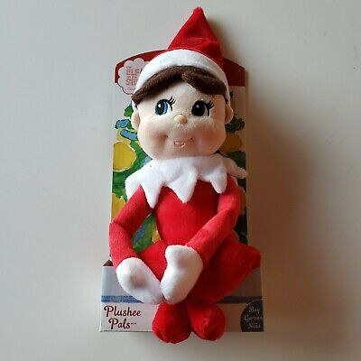 NEW Elf on the Shelf Plushee Pals Plush Doll Boy Christmas Toy