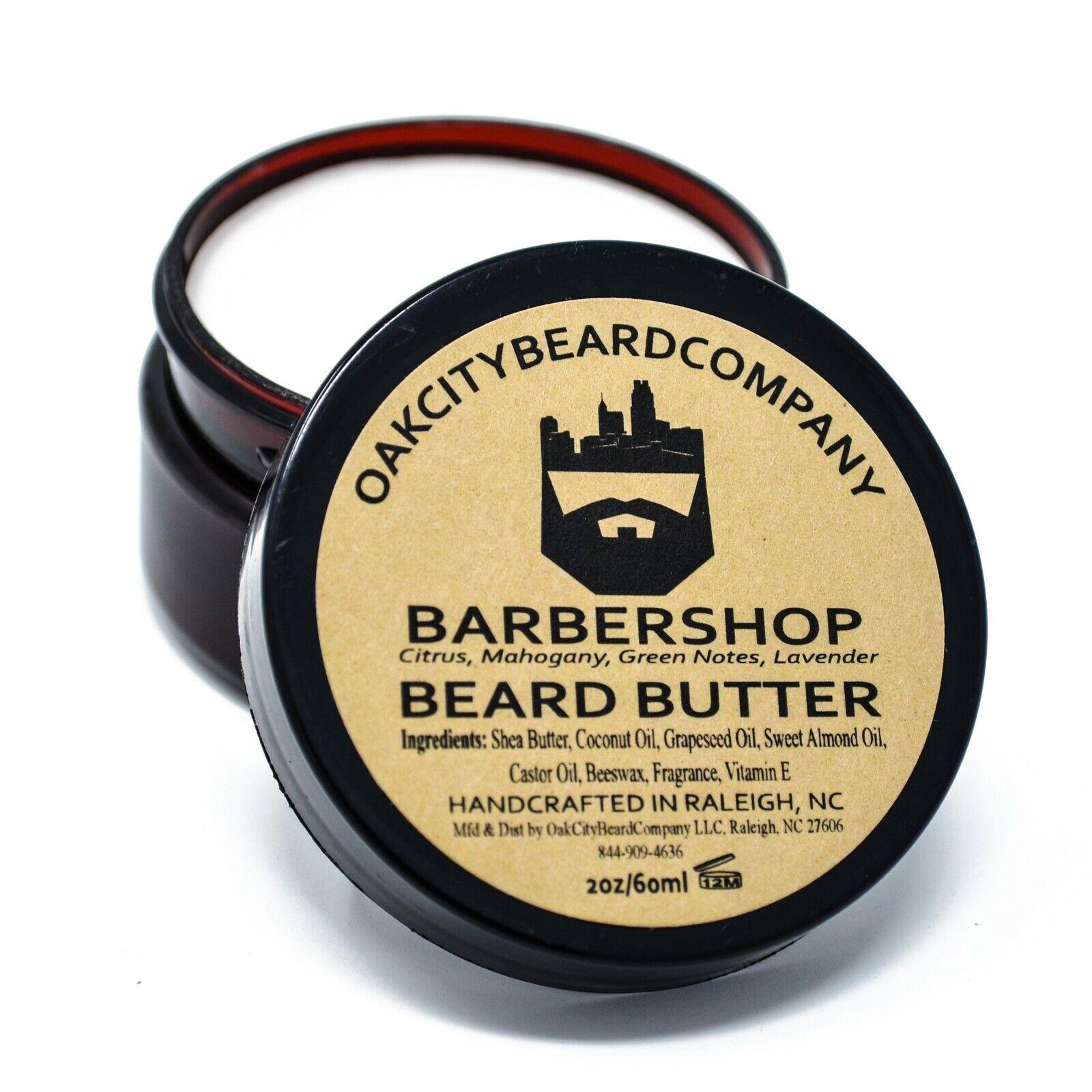 Oak City Beard Co -  Beard Butter - 2oz - All Natural Oils
