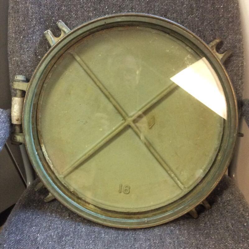 "16"" Diameter Bronze Ship's Porthole 58lbs"