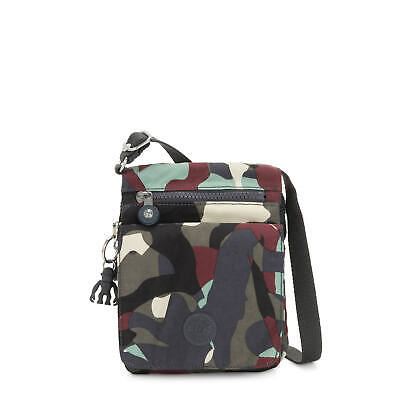 Kipling New Eldorado Printed Crossbody Bag Camo L