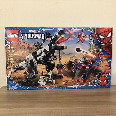 Lego Marvel Spider-Man- Venomosaurus Ambush #76151