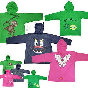 Kids-Fun-Funky-Rain-Coat-Boys-Girls-Childrens-Waterproof-Mac-Childs-Showerproof