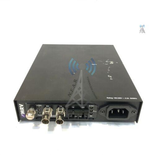 MRV NC316BU-1/15AC Fiber Driver Chassis w/ EM316DS3/M Fiber Converter *EK033020*