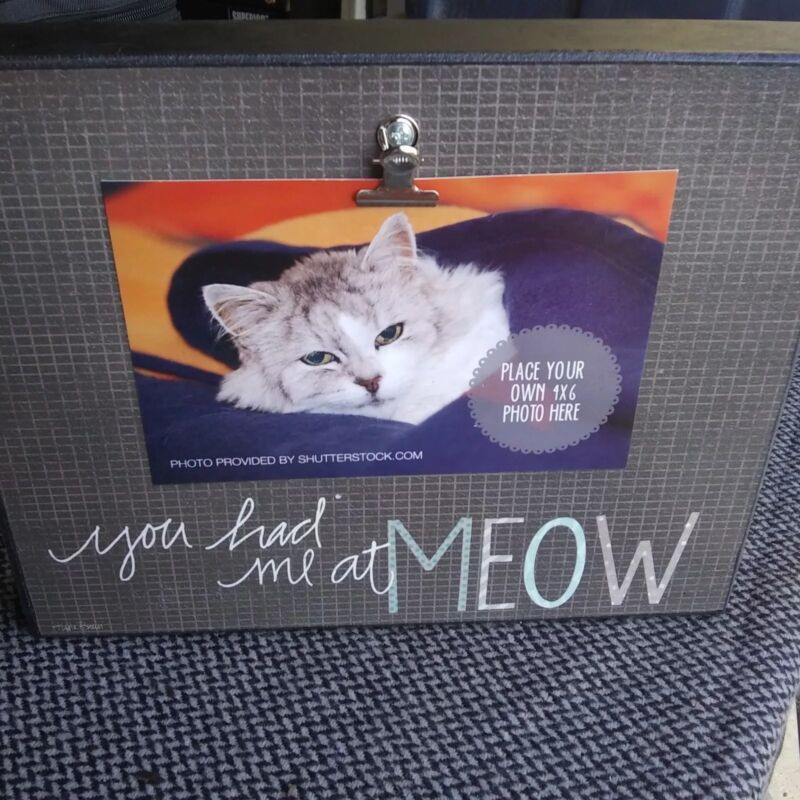 Cat Picture Frame (A20)
