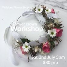 Flower crown workshop The Junction Newcastle Area Preview