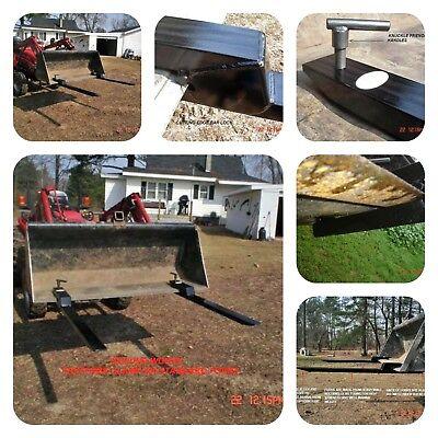 Bucket Forks Tractor Forks Pallet Forks Clamp On Forks