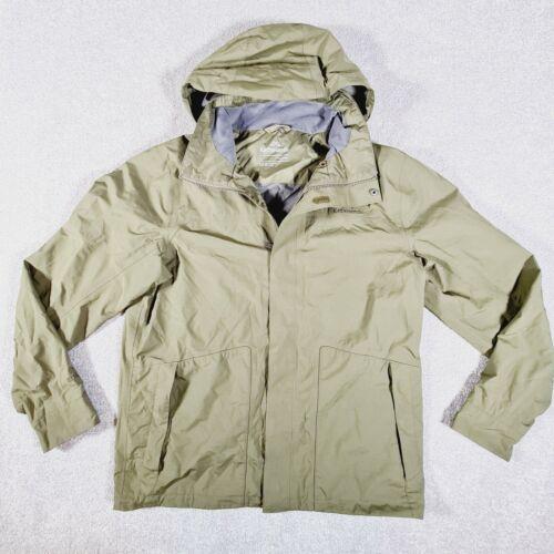 KATHMANDU Mens Khaki Green GORE-TEX Outdoor Waterproof Jacket Size Large