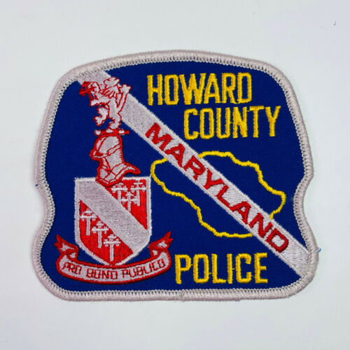 Howard County Police Maryland Patch