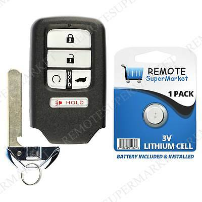Remote For 2016 2017 2018 Honda Pilot Keyless Entry Car Key Fob