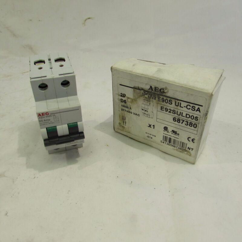 AEG E90S UL-CSA CIRCUIT BREAKER 2-POLE 277/480VAC ***NIB***