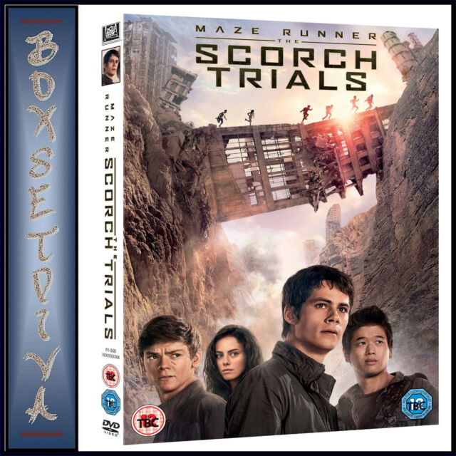 MAZE RUNNER: THE SCORCH TRAILS *BRAND NEW DVD***