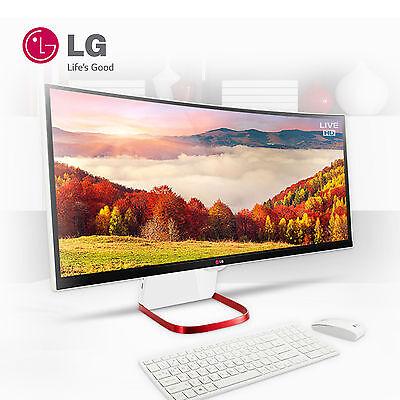 """Brand New! LG All-in-one PC 29V950-UA51K Curved UltraWide Full-HD 29"""" i5-5200U"""
